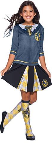 Rubie's Offizielles Harry Potter Kinderkostüm (Hufflepuff Mädchen Kostüm)
