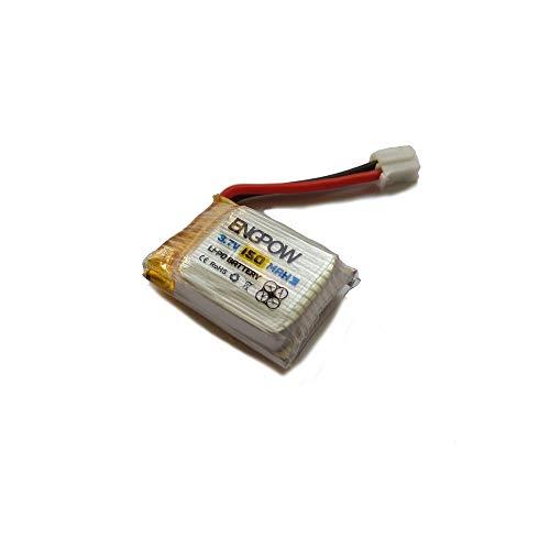 3,7 V 150 mAh Li-Polymer Akku Batterie für JJRC H36 RC Quadcopter,Ewendy Flugzeiten Ihrer Drohne verlängern | Schützt vor Überlastung | Ersatzbatterie Zubehör für Drohne