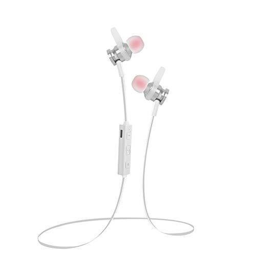 Elospy Bluetooth Kopfhörer in Ear magnetisch Sport Kopfhörer, 4 Stunden Spielzeit, für iPhone, Apple Watch, Android, Echo Dot und Weitere Geräte, für Training Laufen Joggen Fitnessstudio usw Echo-snowboard