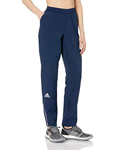 adidas SQUAD Woven Pant Damen Multisport, Damen, Collegiate Navy-White, Medium