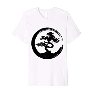 Japanese Bonsai Tree Zen Master Buddhism Penjing T-Shirt