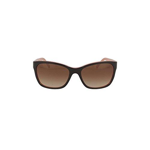 Emporio Armani Flared Sunglasses in Black Coral EA4004 504613 56