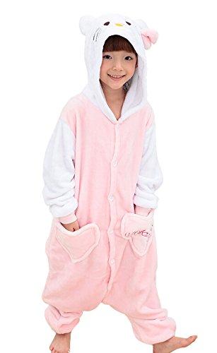 Tonwhar® Children's Halloween Costumes Kids Kigurumi Onesie Animal Cosplay - 31tXPXLiYML - Tonwhar® Children's Halloween Costumes Kids Kigurumi Onesie Animal Cosplay