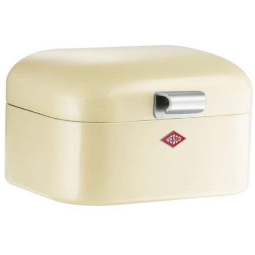 Wesco 235001-23 Aufbewahrungsbox Mini Grandy, 18 x 17 x 12 cm, mandel
