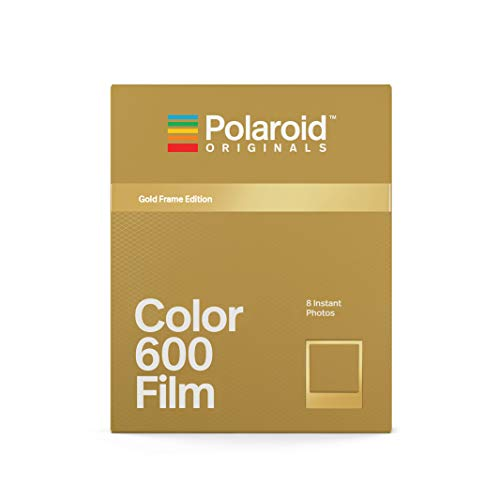 Polaroid Originals - 4859 - Farbfilm für 600 Gold Frame Edition