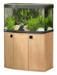 Fluval Vicenza 260 Aquarium and Cabinet Oak