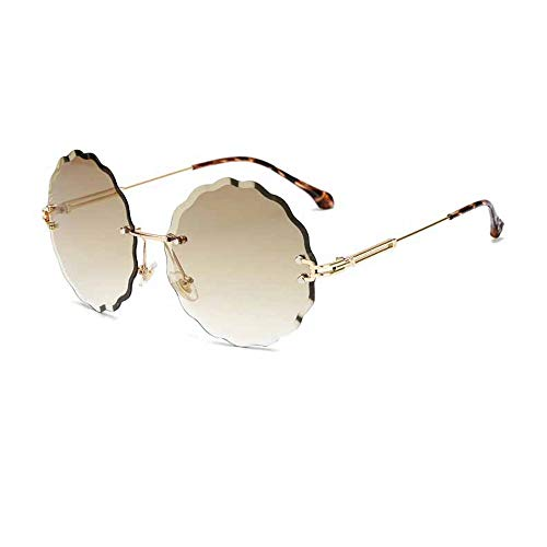 Hjyi Blumen ohne Grenzen Sonnenbrillen für Damen Polarisierte Aluminiumlegierung Rahmen Sonnenbrille Mode Fahren Sonnenbrillen UV400 Gläser Blume Grenze