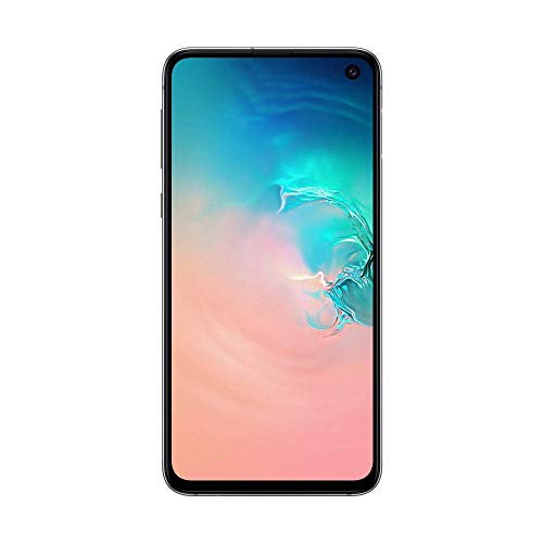 "三星Galaxy S10e智能手机,白色(Prism White),5.8 Display"",128 GB可扩展,双SIM [英文版]"