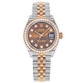 Rolex Lady Datejust Chocolate Diamond Dial Automatic Watch 279381CHDJ