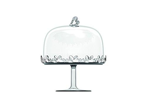 Guzzini 11550100 Plats de présentation à gâteau et récipients, SMMA, Transparent, 18,4 x .21 cm