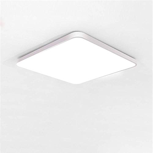 Led ceiling light simple modern ultra-thin corridor aisle living room round balcony dining room 36W 40 x 60CM non-polarized light band remote control