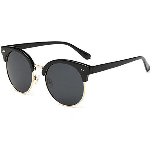 O-C da donna Fashion e colorato occhiali da sole polarizzati 56MM nero Black frame,black lens - Nuovo Cartier Occhiali Da Sole
