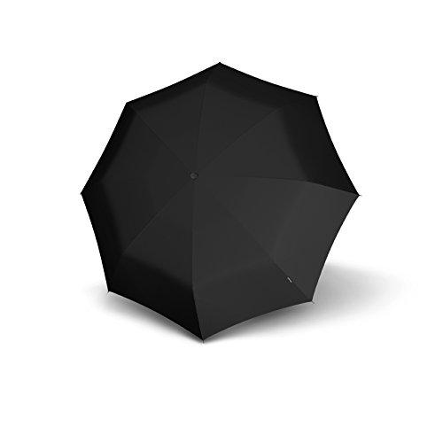 Knirps T.200 Medium Duomatic Reflective Black Black (Nero)