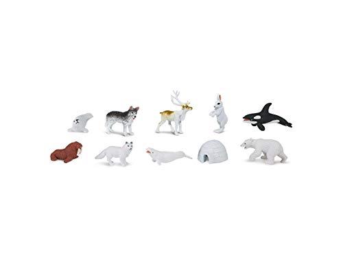 Miniblings 8X Alaska Set Iglu Eisbär Aufstellfiguren Arktis Pol Tiere Figuren -