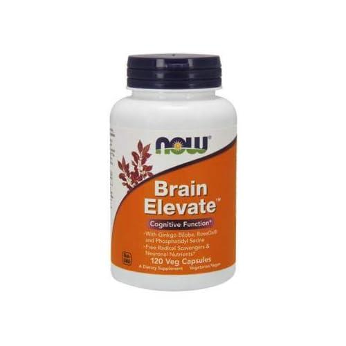 31tXurf4ZiL. SS500  - Now Foods Brain Elevate, 120 Vegetarian Capsules