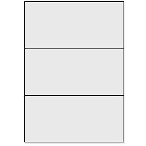 100/fogli DIN A4 /4000/etichette 5,2/x 2,8/cm bianco opaco/ /per stampanti a getto d inchiostro e laser autoadesive Etichette adesive/