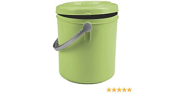 Eimer 10 Liter mit Henkel Blau Grün Putzeimer Abfalleimer Papierkorb Mülltonne