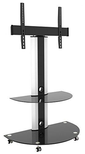ricoo-lcd-tv-supporto-piede-vetro-piede-inclinabile-fs0502-orientabile-girabile-con-ruolo-regolabile