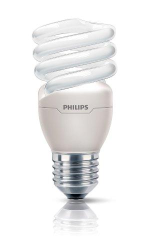 Philips Ampoule FluoCompacte Spirale Culot E27 15 Watts Consommés Équivalence Incandescence : 70W