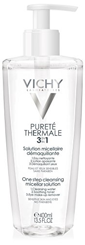 Vichy - Purete Thermale - Limpiador facial calmante micelar para mujer - 400 ml