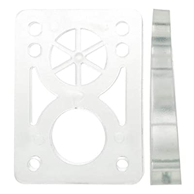 D Street Risers Pads 8 to 14 Mm Soft Clear