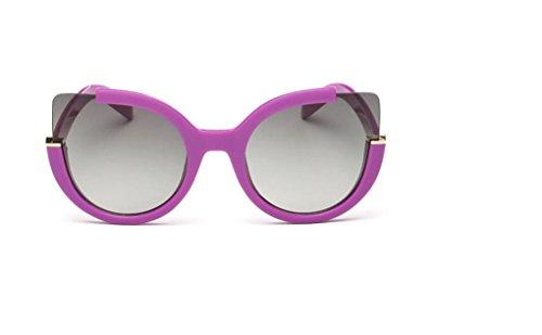 WANGMIN® Polarisierte Sonnenbrille-Weinlese-Art- Und Weisekatze-Augen-Sonne-Gläser Für Frauen Uv400 Qualität Übergroße Damen-Sonnenbrille-Frauen-Marken-Designer , B (Gucci Damen-unterwäsche)
