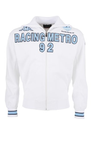 10c1a1bec881b Racing Metro 92 T-Shirt - KAPPA Official Collection - Rugby Top 14 - Size