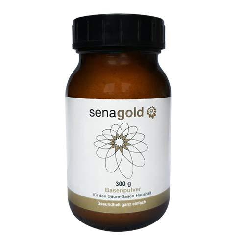 Senagold Basenpulver mit der 3-fach Wirkung (1) zur natürlichen Entsäuerung (2) für Ihre Knochengesundheit (3) deckt Ihren Calcium- und Magnesiumbedarf (300 Gramm)