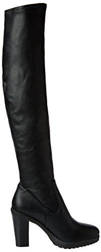 Steve Madden Ariel, Damen Kurzschaft Stiefel Schwarz (black Stretch)