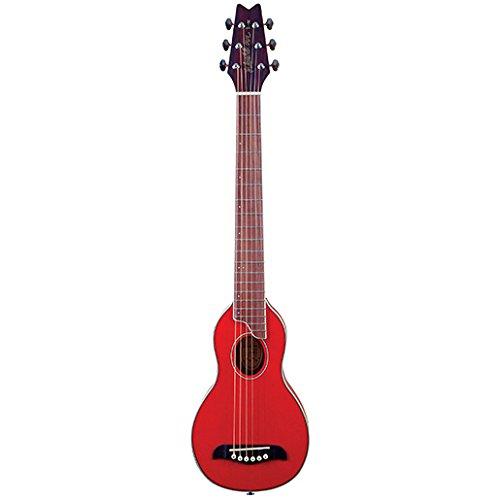 Washburn - Rover TR - Guitare acoustique de voyage - Rouge (Import...