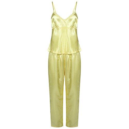 Ex Jolinesse - Ensemble de pyjama - Femme crème crème Taille Unique Jaune