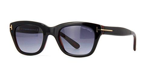 Tom Ford Herren Sonnenbrille Schwarz Schwarz