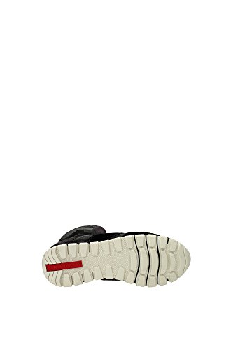 3T6111NEROCAMOUFLAGE Prada Sneakers Femme Tissu Vert Vert