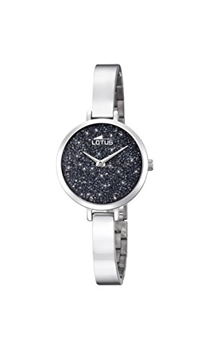 Lotus Watches Femme Analogique Classique Quartz Montre avec Bracelet en Acier Inoxydable 18561/2