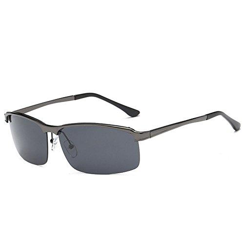 RLJJSH Sonnenbrille Katzenaugenmänner polarisierte Sportsonnenbrille Damen Baseball Laufen Fahrrad Golf Softball Wandern Sonnenbrille Sonnenbrille (Farbe : Gray, größe : One Size)