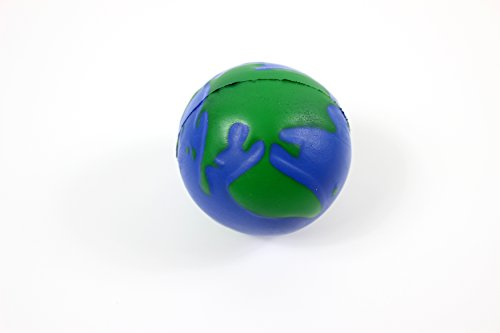 Planet earth anti-stress reliever ball ADHD Autism relief...