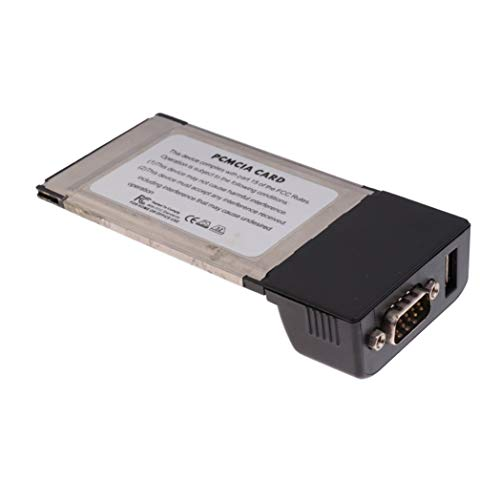 SeaStart 1 PCMCIA zu RS232 Seriell DB9 I/O & USB Port Karte Adapter Slot für Notebook