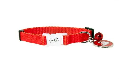 Karlie Simon del gatto 64803Gatto Collare Rosso 31cm
