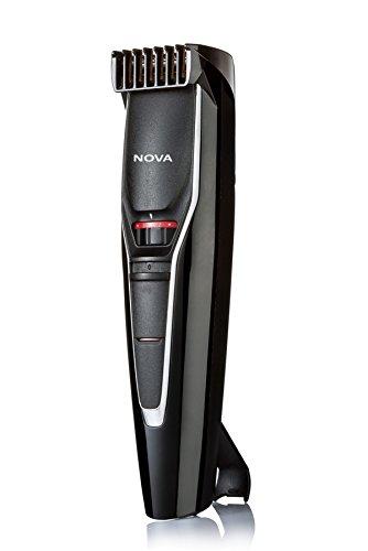 Nova NHT 1091 20 Length Settings Trimmer for Men (Black)
