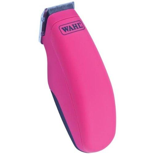 Wahl Pocket Pro Tierhaar-Trimmer, ideal für empfindliche Stellen rund um Augen / Gesicht / Ohren / Kinn, in Schwarz oder Rosa erhältlich schwarz schwarz -