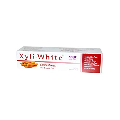 Now Foods Xyliwhite Zahnpasta Gel (Now Foods, Xyliwhite Zahnpasta Gel, Cinnafresh, 6,4 oz (181 g))