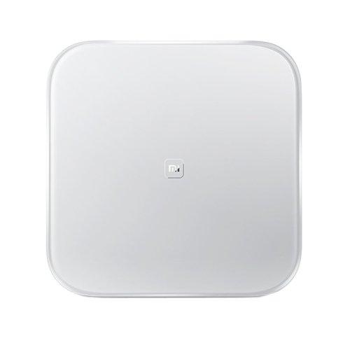 Xiaomi Smart Weight Báscula Digital Body Fat Analyzer Health Analyser inalámbrico Bluetooth compatible con Android IOS (White)