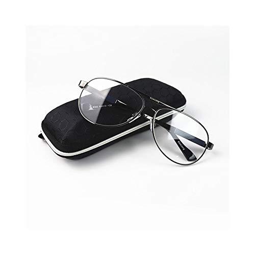 WULE-RYP Polarisierte Sonnenbrille mit UV-Schutz Aviator Sonnenbrille für Herrenmode, Kristalllinse, UV-Schutz. Superleichtes Rahmen-Fischen, das Golf fährt (Farbe : Schwarz)