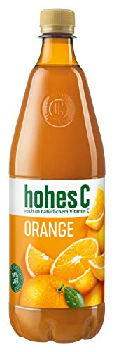 Hohes C Orange - 100% Saft, (1 x 1,0 l)