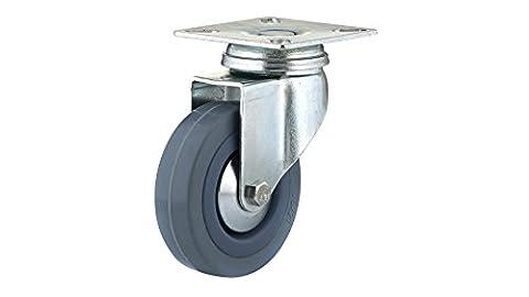 Richelieu Hardware f24786Industrie grau Gummi Caster–drehbar–215/40,6cm Rad Durchmesser