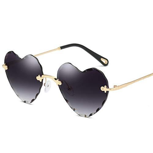 39064e45be ROirEMJ Gafas De Sol De Mujer Retro Gafas De Sol con Forma De Corazón Amor  De