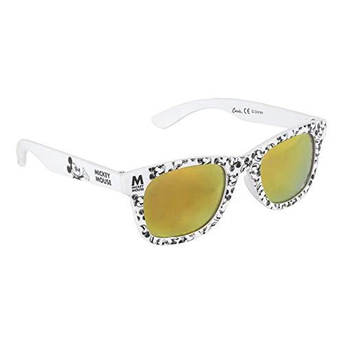 Artesania Cerda Mädchen Gafas Sol de Mickey Sonnenbrille, Weiß (Blanco), 52