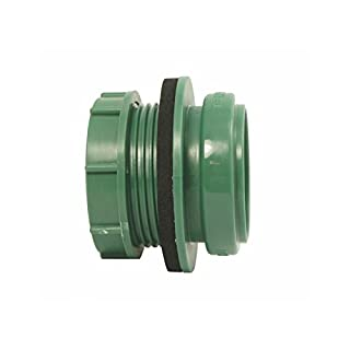 AIRFIT Anschraub-Muffe DN 50- grün- für Kunststoff-Reinigungs-Deckel