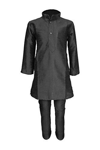 JBN Creation Boys Cotton Silk Kurta & Pyjama Set For Kids (Color:...