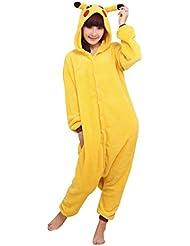Molly Unisexo Adulto Kigurumi Pijama Disfraz de halloween para cosplay Homewear Amarillo L